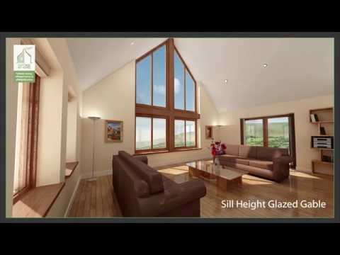 Cottage Kit Homes – Feature Glazing