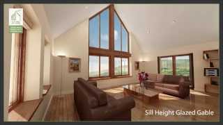 Cottage Kit Homes - Feature Glazing