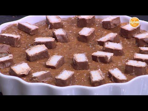 حلوي البسكويت و جوز الهند : غادة التلي