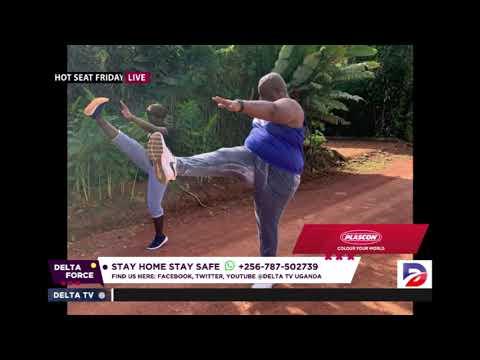 Rema Namakula On Her Feet. Pastor Mondo Mugisha Thrilled By Gym Goers Ba Kanyama.