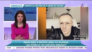 Mihai Albu a inceput anul cu un scandal ,,Fosta sotie m-a acuzat ca imi fac reclama cu fet ...