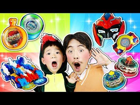 我的童年有你一伴,和馬樹爸爸來玩悠悠球陀螺大pk!小伶玩具 | Xiaoling Toy