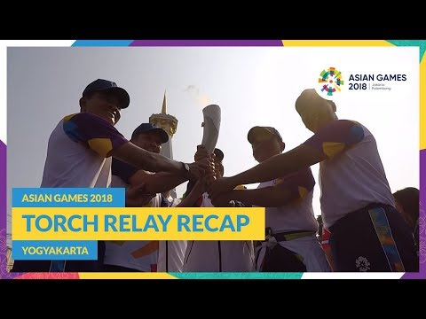Asian Games 2018 - Torch Relay Recap (Yogyakarta)