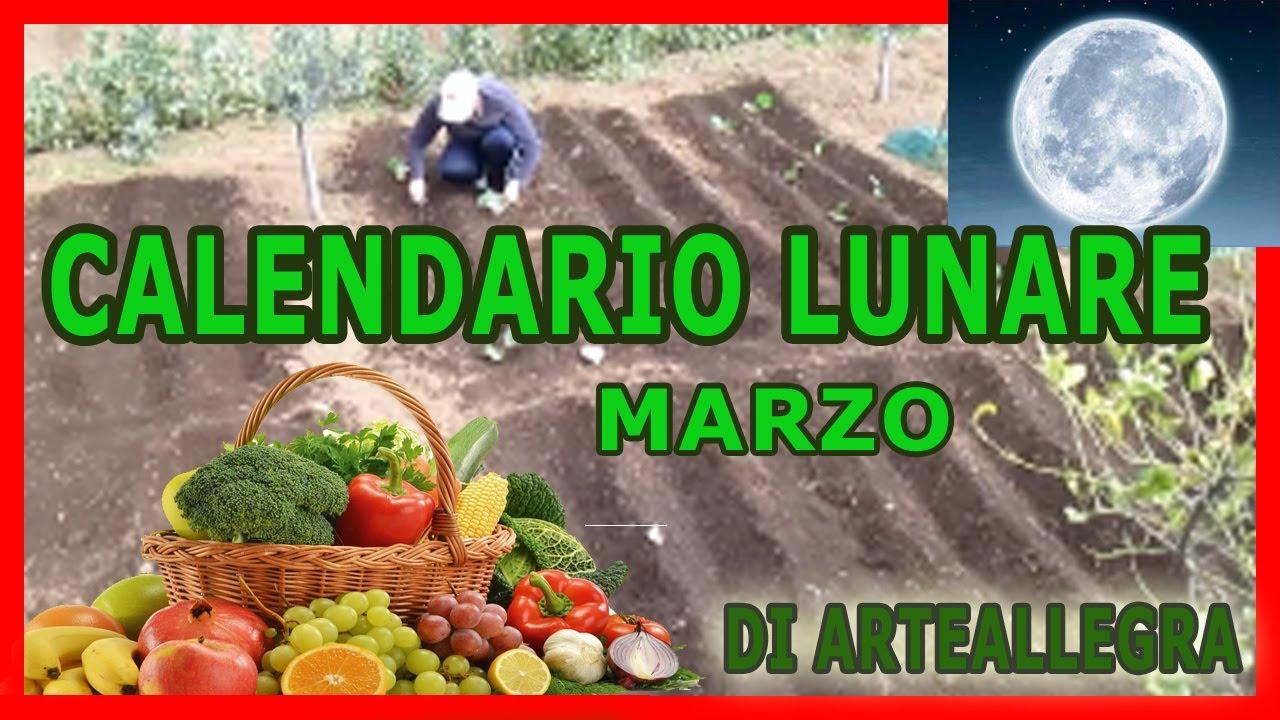 Calendario Lunare Marzo.Il Calendario Lunare 2018 Marzo