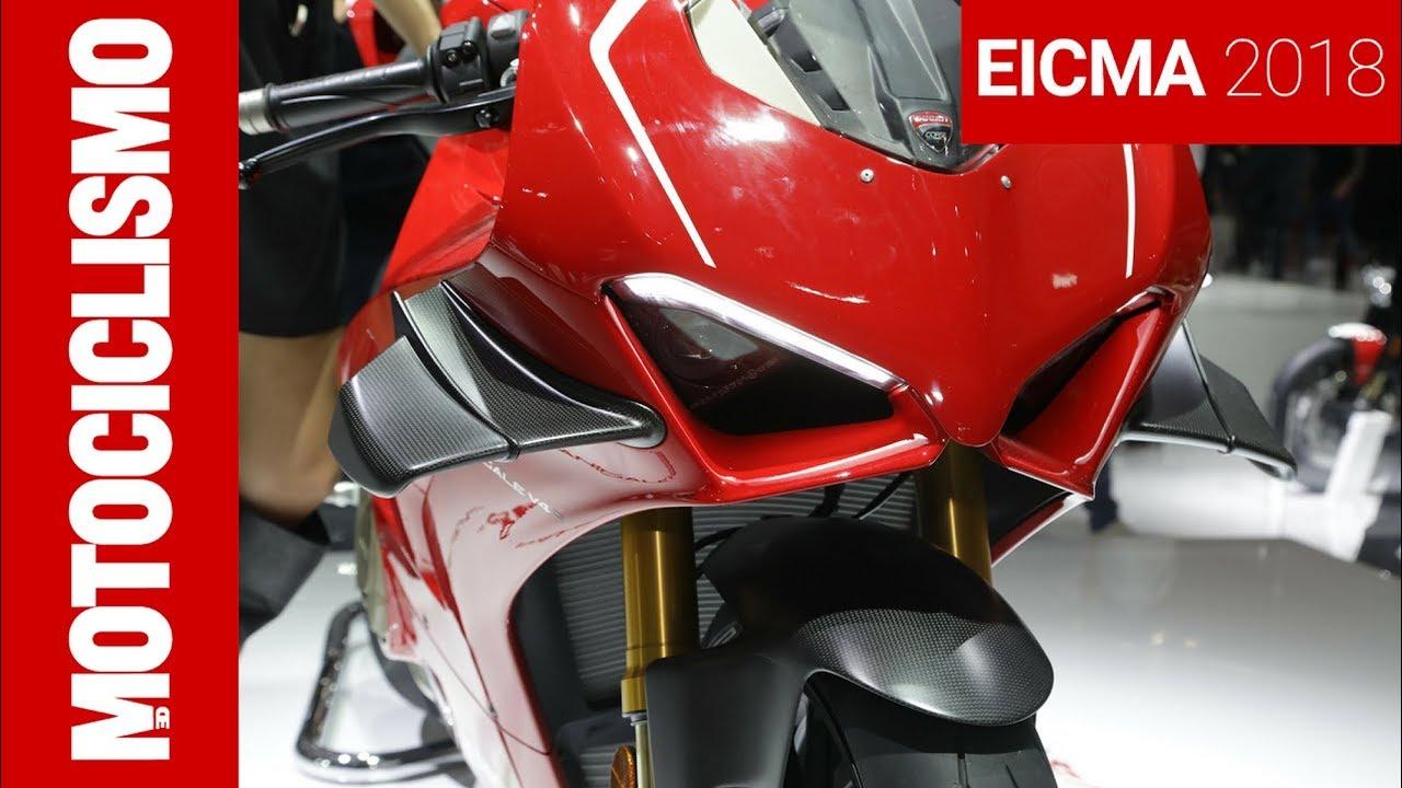 Ducati Panigale V4 R Eicma 2018 Youtube
