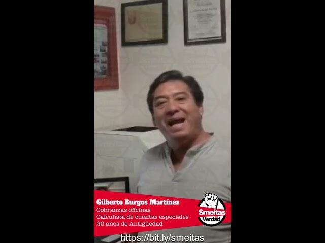SME tú ¿Dónde Estabas?  Gilberto Burgos Martínez