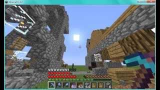 Coisas loucas para fazer no minecraft #1 Villagers sem casa :P