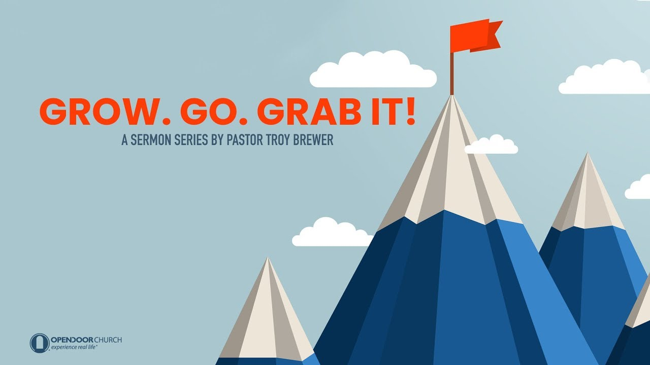 Get up and Go | Troy Brewer | Grow Go Grab it
