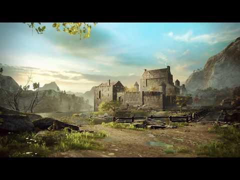 (UE4) Castle On The Coast