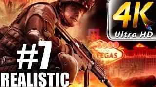 Rainbow Six Vegas - Realistic Walkthrough - (PC-4K) Part 7 - Vertigo Spire