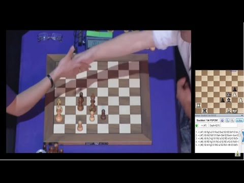 ♚ Magnus Carlsen Beats 🔨🔨 💥 Hikaru Nakamura ★ Chess Blitz Grand Chess Tour Paris, Round 9