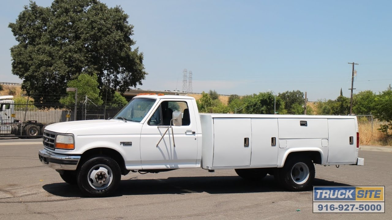 1997 Ford F350 XL Utility Truck for sale by Truck Site
