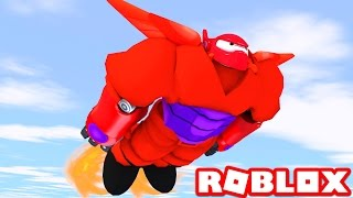 BAYMAX IN ROBLOX! (Roblox Big Hero 6 Superheroes)