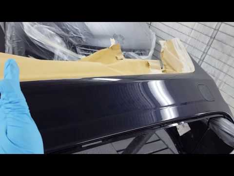 How to blending the clear coat