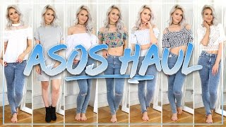 ASOS HAUL, UNBOXING AND TRY ON FOR SPRING: My Fave Haul Yet!