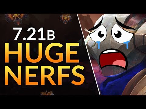 5 BIGGEST NERFS and BUFFS in Patch 7.21b - Sven DELETED | Dota 2 Guide thumbnail
