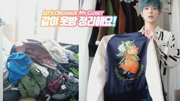 Let's Organize My Closet! (part 1 _ OUTER)