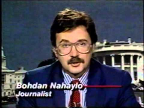 Bohdan Nahaylo on CNN on 3 July 1990 predicting the dissolution of the Soviet Union