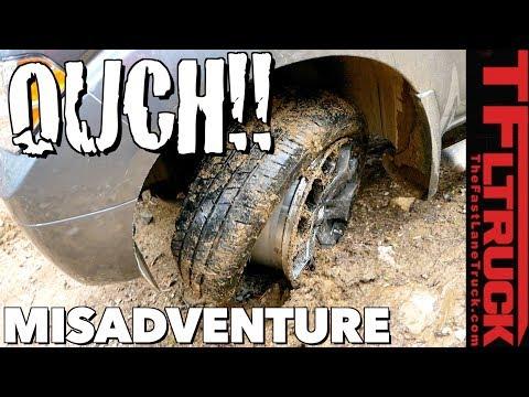 TFL Misadventure: Nissan Frontier vs GMC Canyon vs Pennsylvania Gulch!