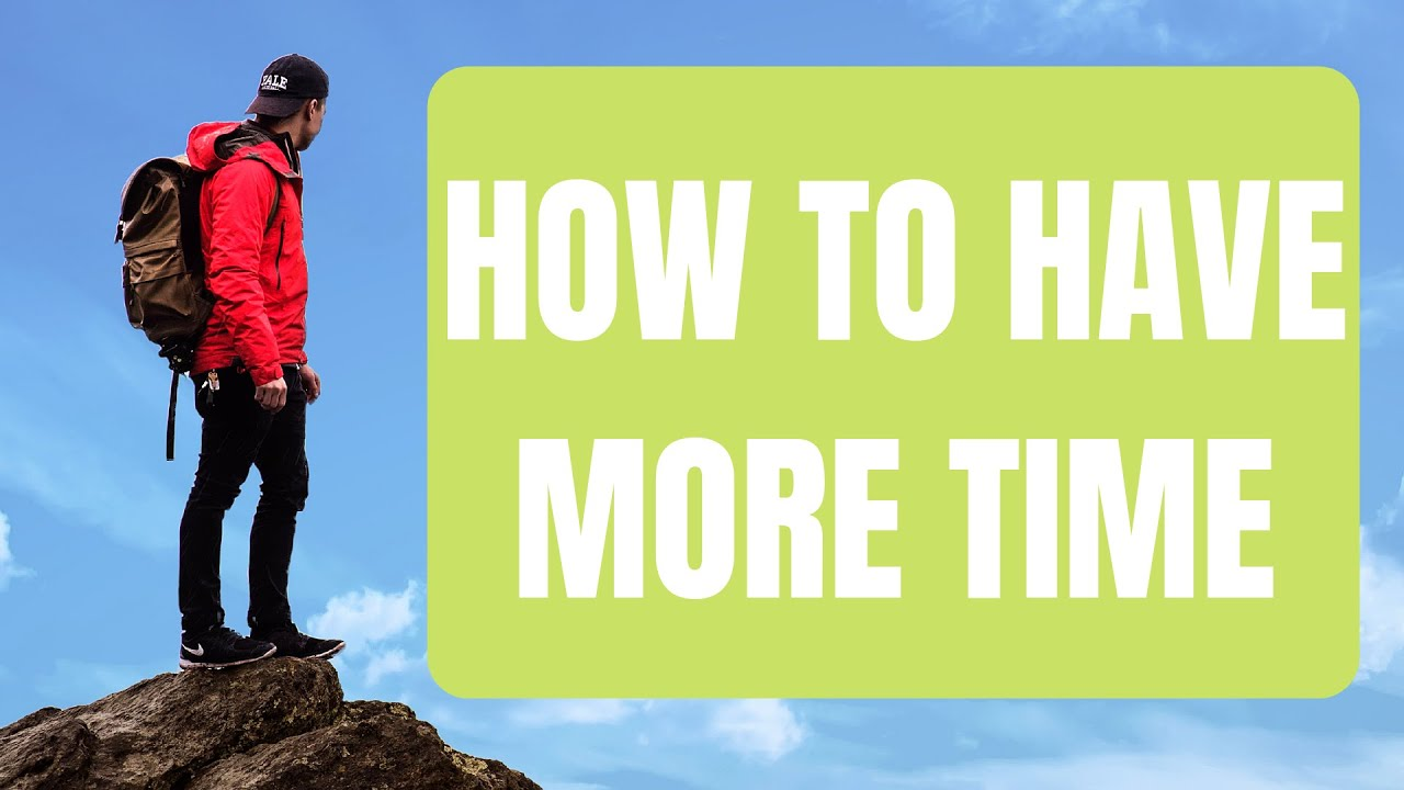 how to have more time in life on saving time by seneca animated review