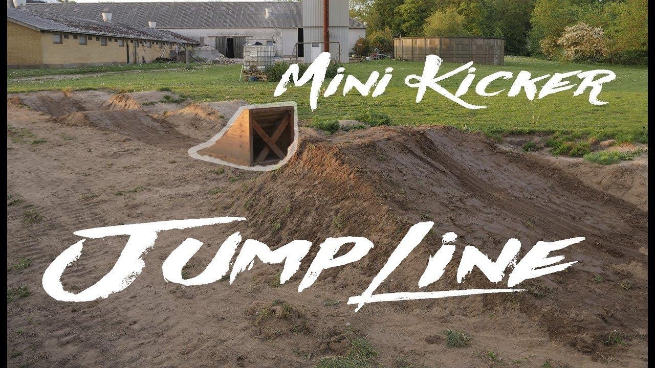 The Start Of The New JUMPLINE - Small Wooden Kicker