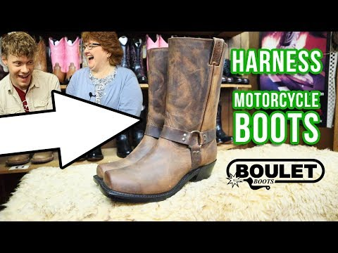 Boulet Harness Motorcycle Boots Review!