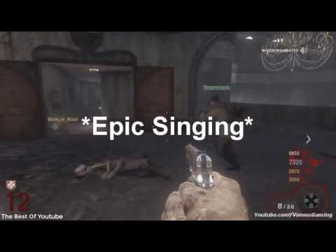 Vanoss Gaming First Video  Playing Black Ops Zombies (Deleted Video)