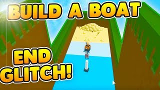 HOW TO GLITCH TO THE END! (GAMEBREAKING) | Build A Boat For Treasure ROBLOX