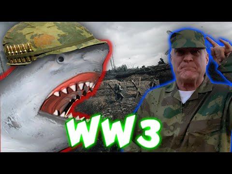 SHARK PUPPET IN WW3!!!!!