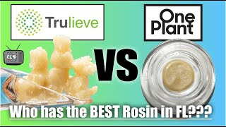 One Plant's Dirty Lemons Rosin V.S. Trulieve's Pineapple Upside-Down Cake. Which is better? (Review)