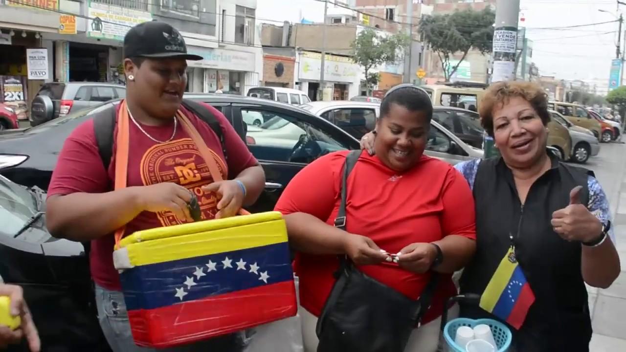 Resultado de imagen para venezolanos en lima