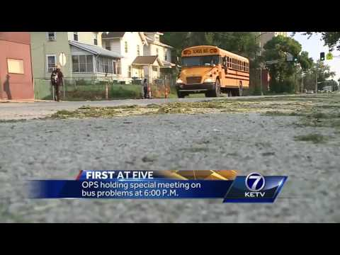 5pm preview of OPS school bus meeting