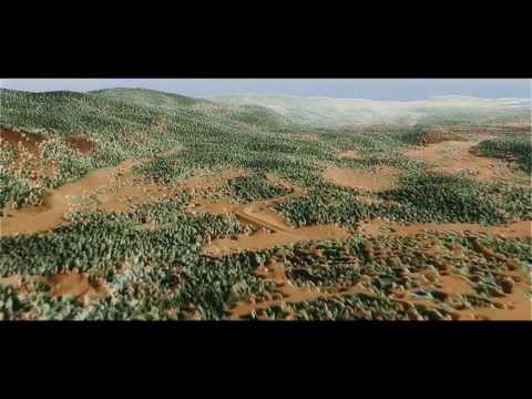LiDAR Wet Areas Animation