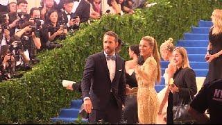 Blake Lively and Ryan Reynolds, MetGala 2017