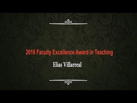 Elias Villarreal  Teaching
