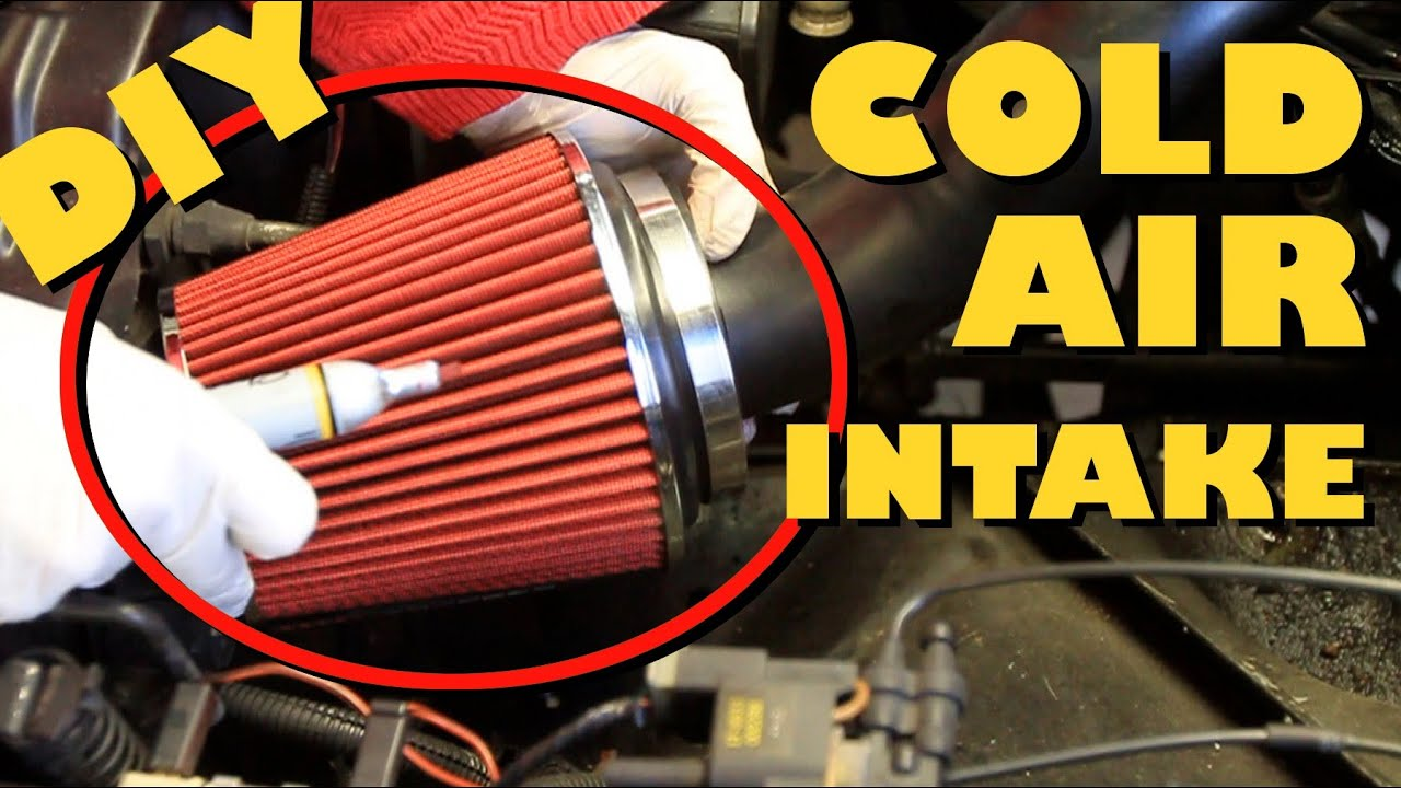 How To Cold Air Intake Youtube Virago 250 Fuel Filter