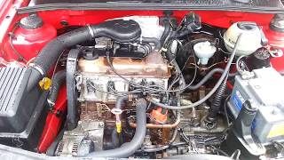 Моем двигатель VW Golf 3