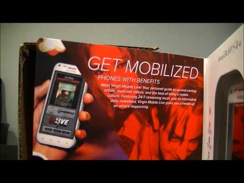 Virgin Mobile Samsung Galaxy S2 Unboxing