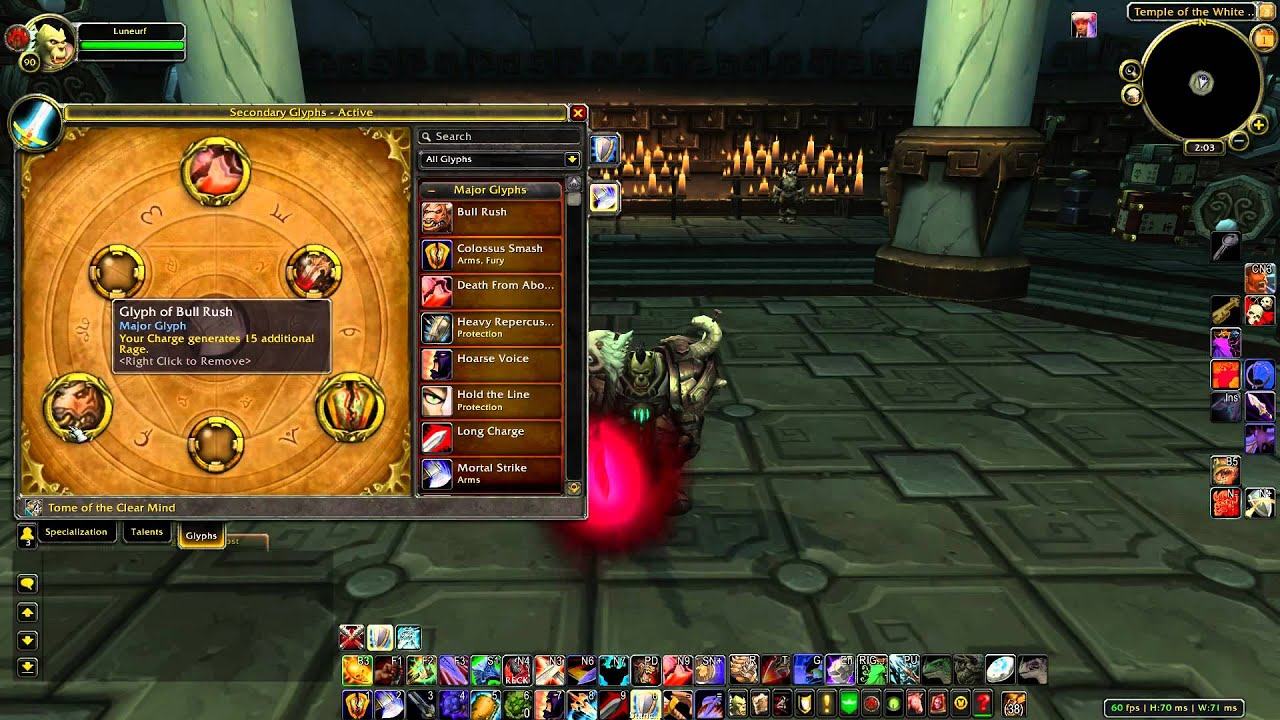 Pvp arms warrior guide, wow wotlk 3. 3. 5a gnarly guides.