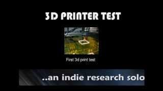 etNick Studio Research  3D Print Test  Part 1(, 2013-07-26T06:47:04.000Z)