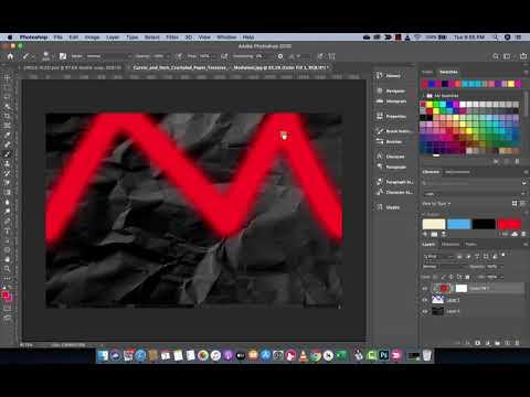 Photoshop 2020 - New Swatch Panel