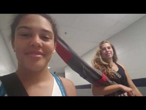 Colorguard Vlog- Band Camp Day 1