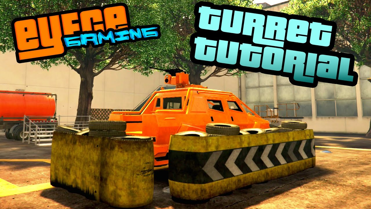 gta tutorial insurgent or technical stationary defence turret