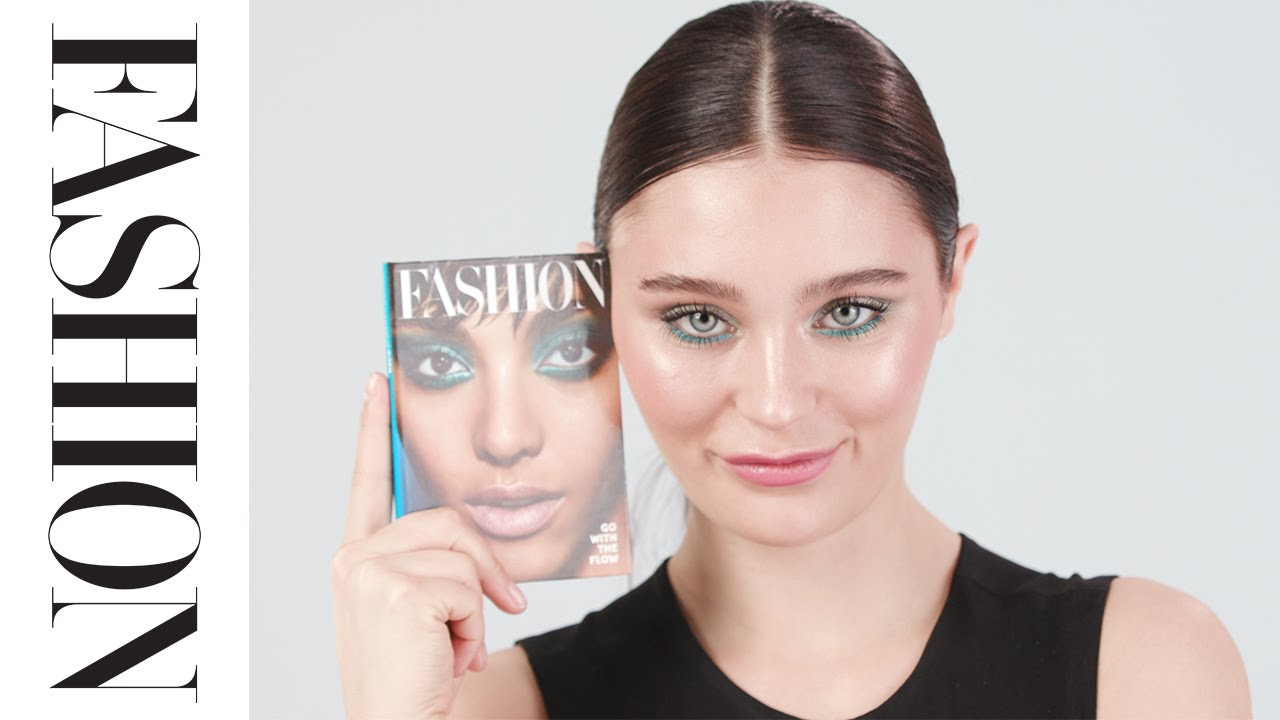 How-To Makeup Look with FASHION X Watier Go With the Flow
