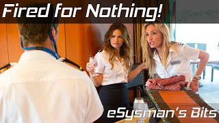 Fired for nothing!   eSysman's Bits
