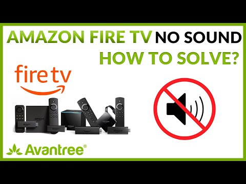 No Sound When Watching Amazon Fire TV - How To Solve?