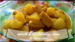 Solomillo de Pavo Estofado con Patatas