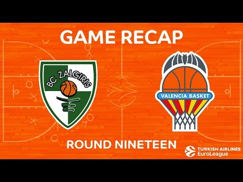 Highlights: Zalgiris Kaunas - Valencia Basket