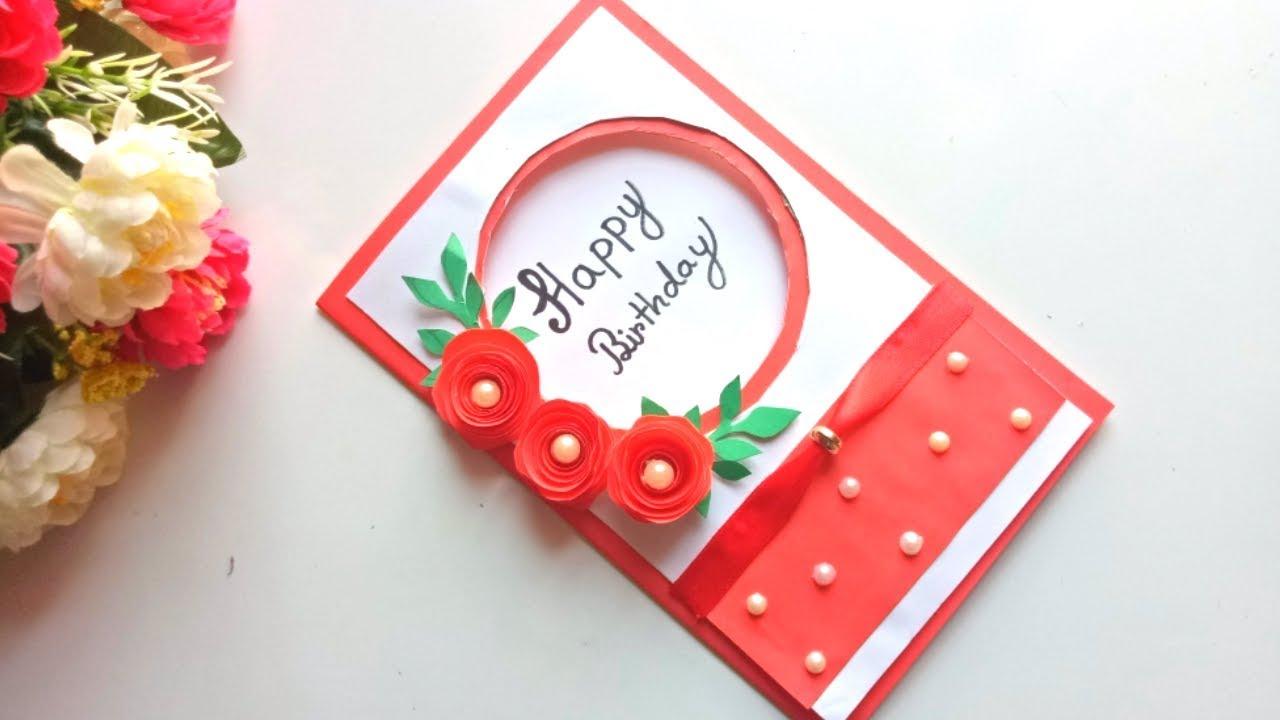 Beautiful Handmade Birthday Card Idea DIY Greeting Pop Up Cards For