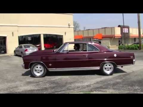 1966 chevy nova ss running for sale built 350 small block 600hp youtube. Black Bedroom Furniture Sets. Home Design Ideas